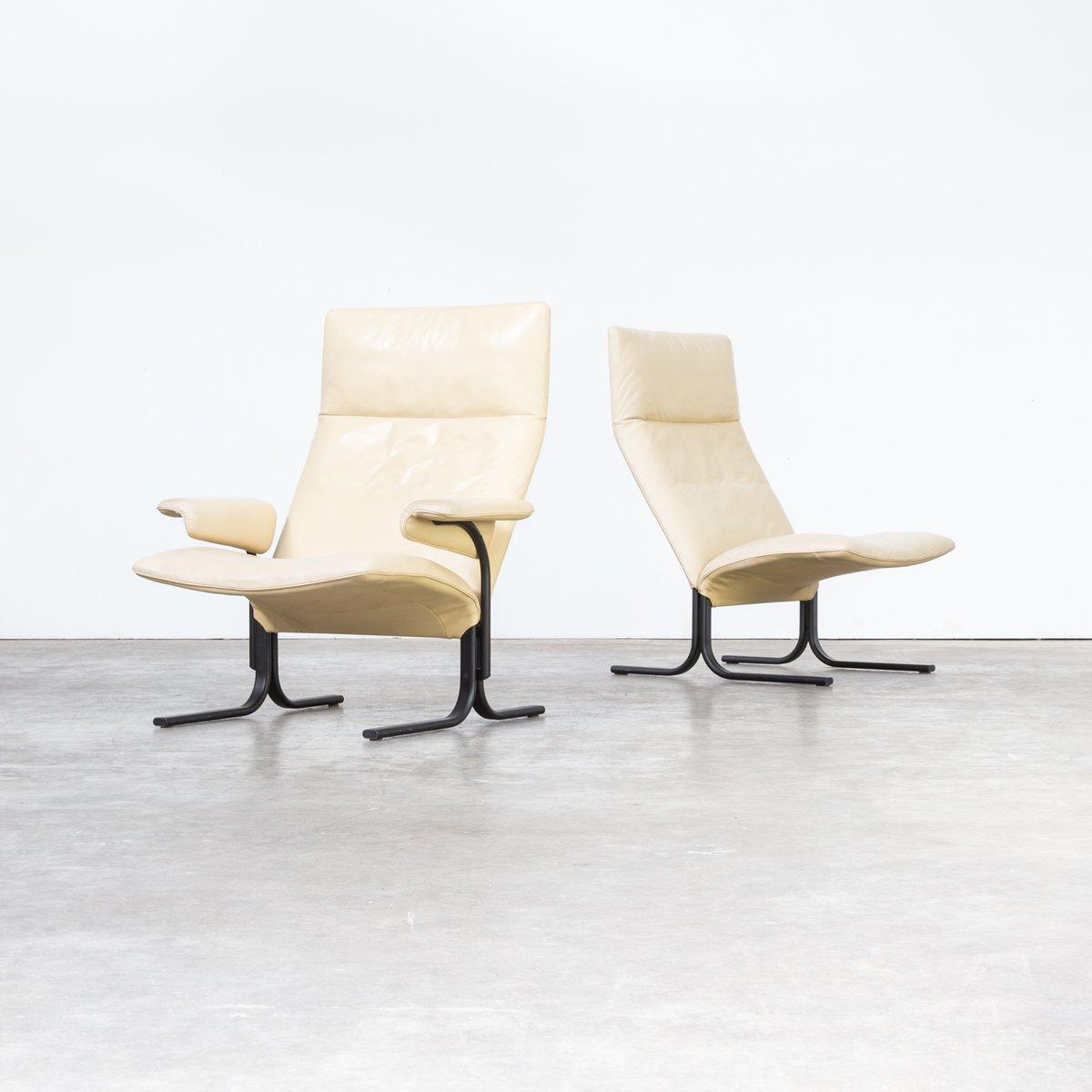 DS 2030 Sessel von Hans Eichenberger für de Sede, 1970er, 2er Set