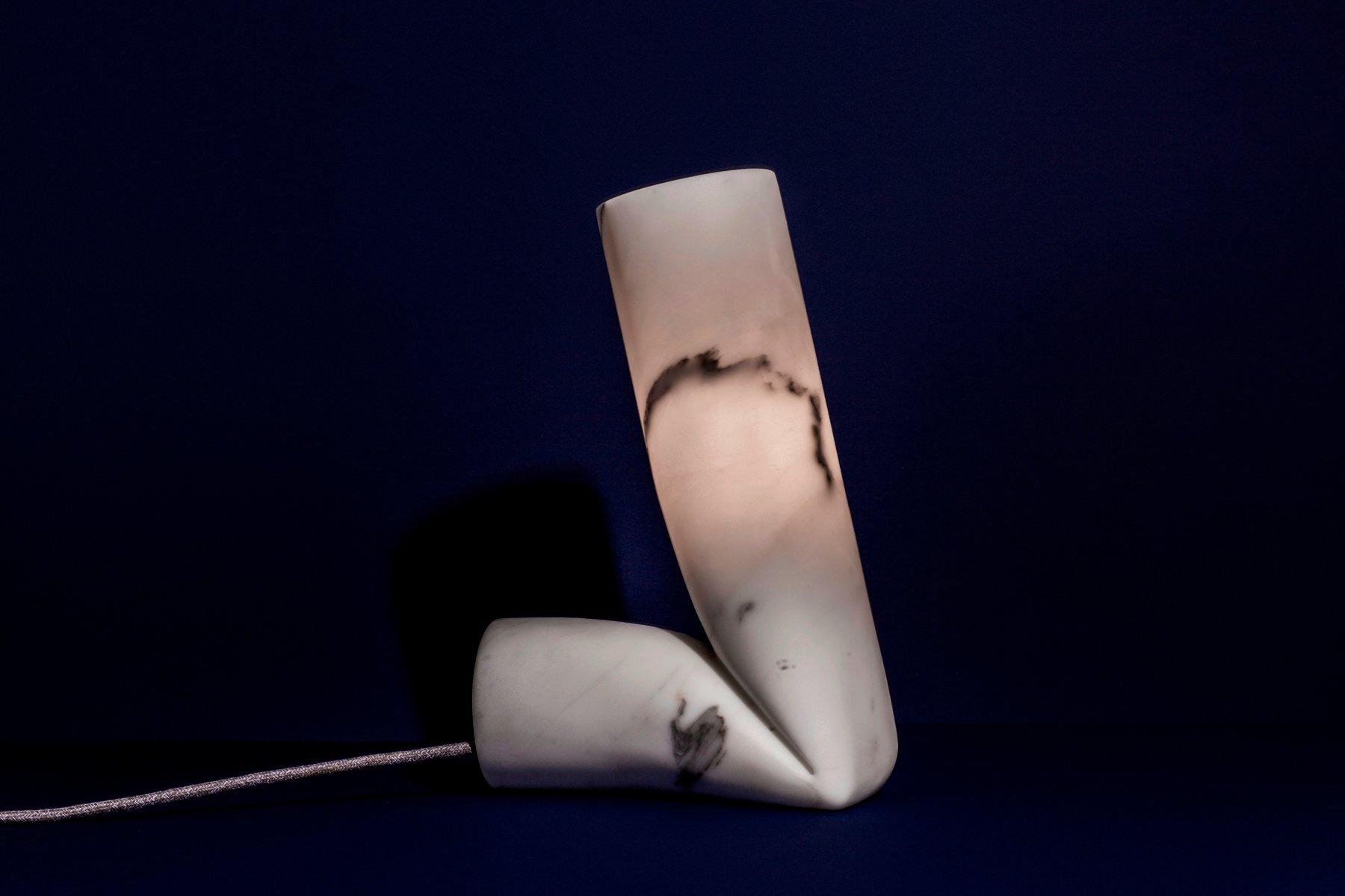 Große Smash Tischlampe von StoneLab Design