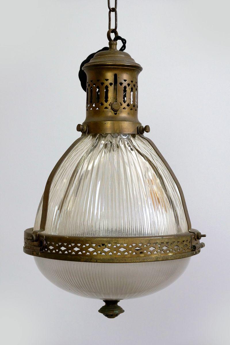 Jugendstil Deckenlampe jugendstil deckenlampe von holophane, 1900er - julagi