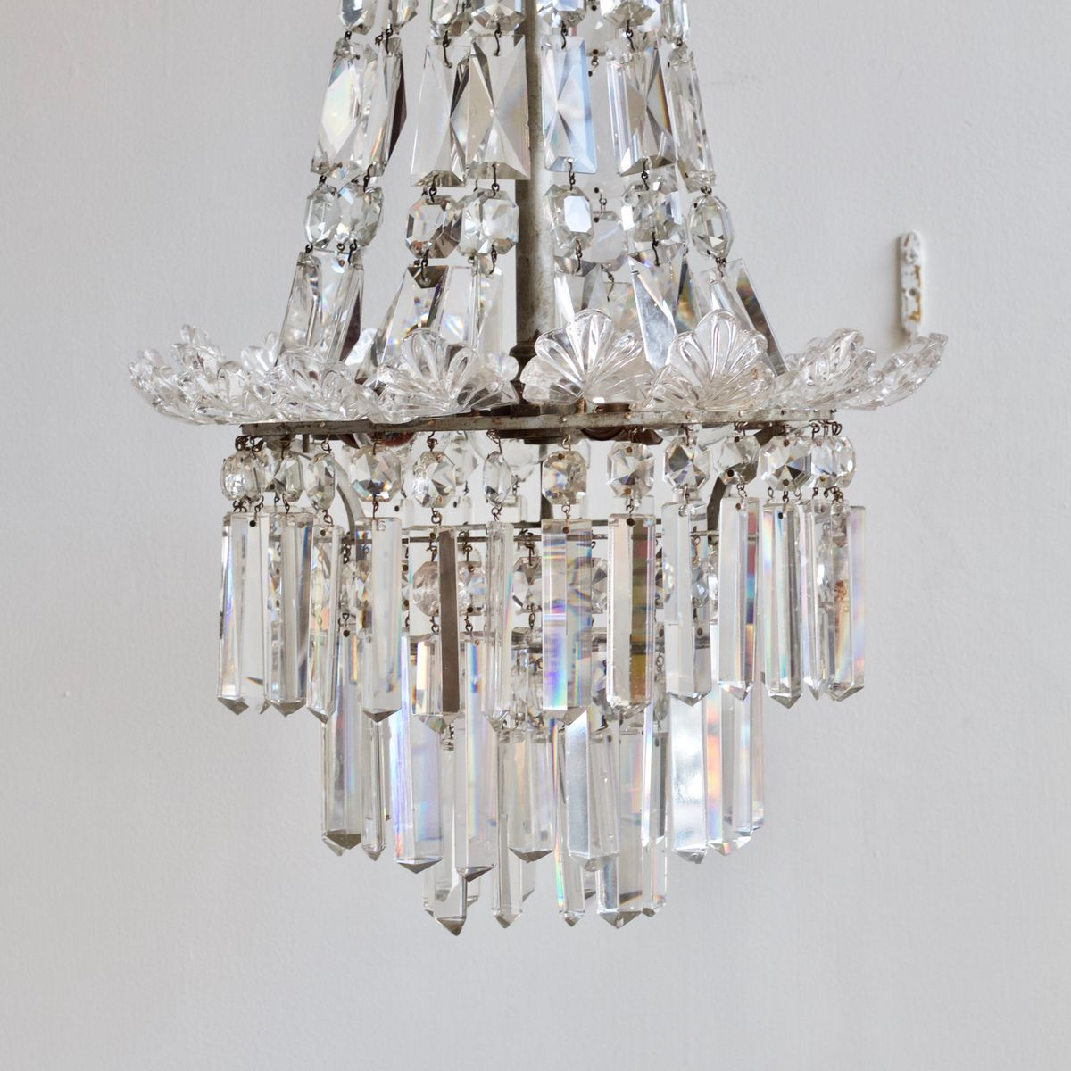 Crystal Chandelier Sale: English Crystal Chandelier, 1920s For Sale At Pamono