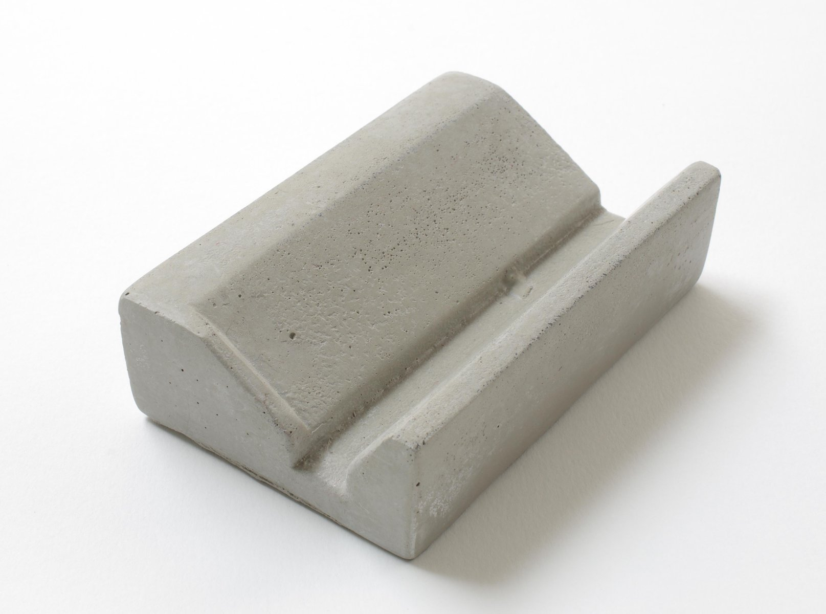 Concrete Soap Dish By Ulf Neumann For Rohes Wohnen 2018