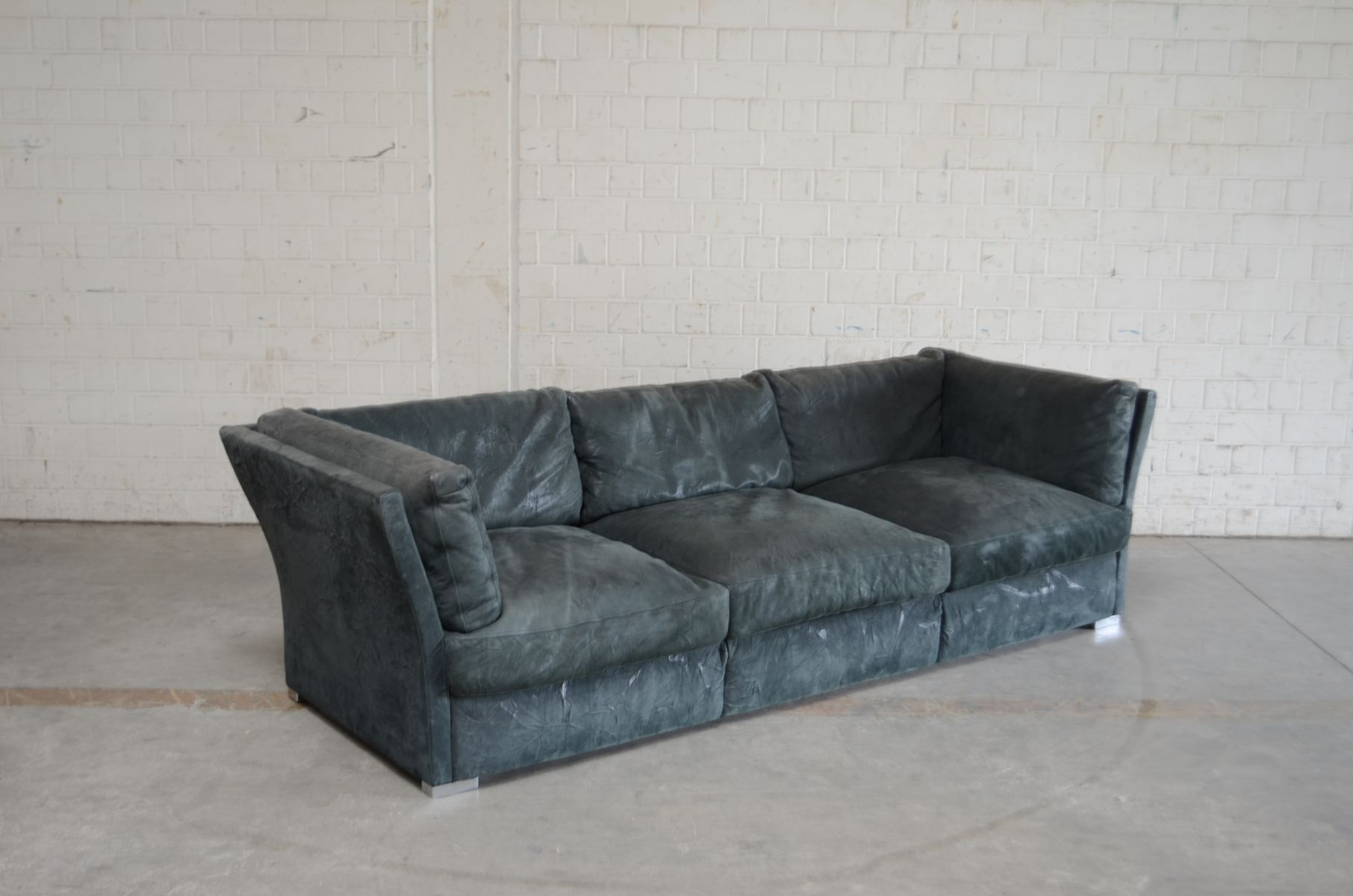 Exceptionnel Nirvana Leather Sofa By Franco Poli For Matteo Grassi, 2006