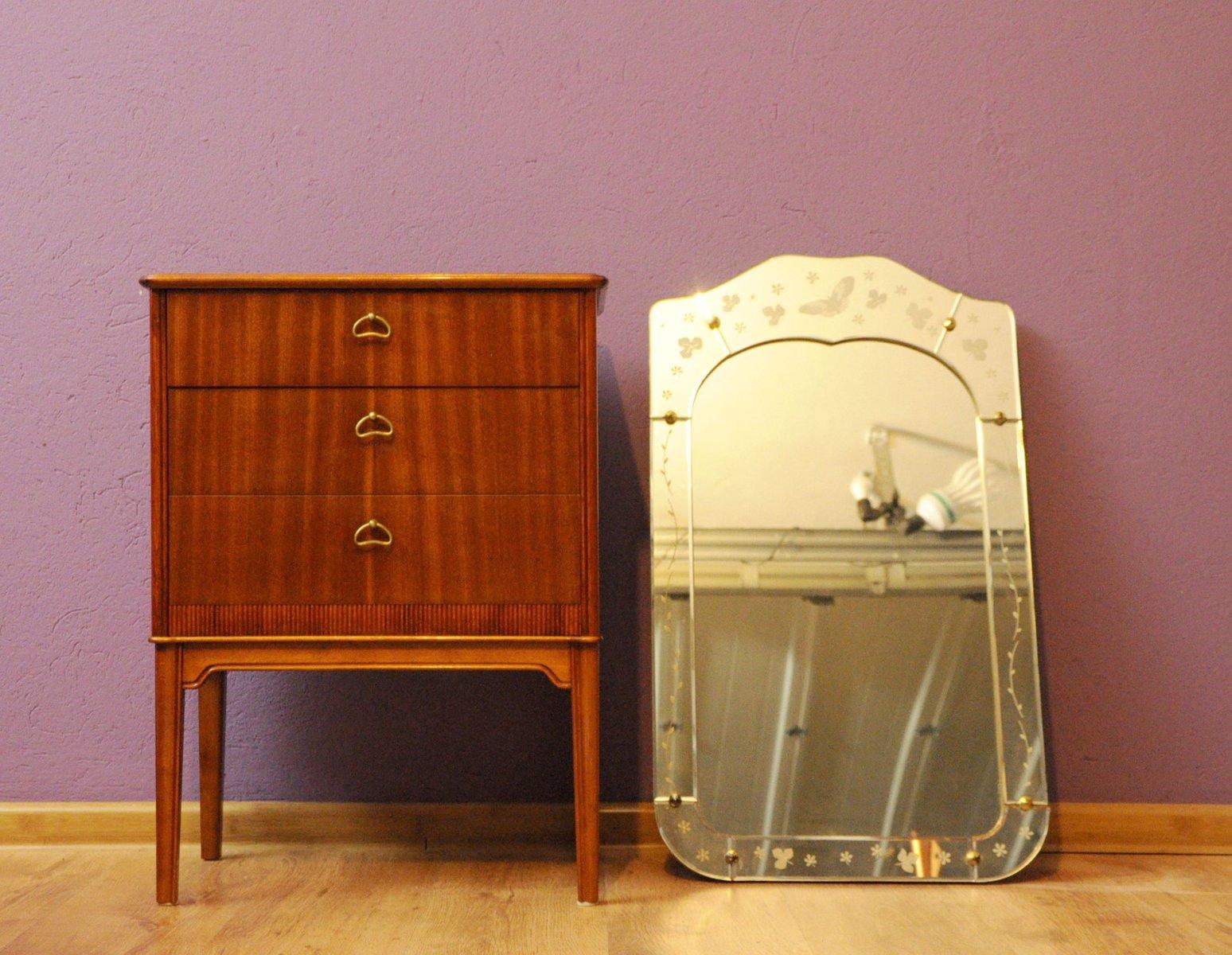 Dänische Vintage Kommode & Spiegel