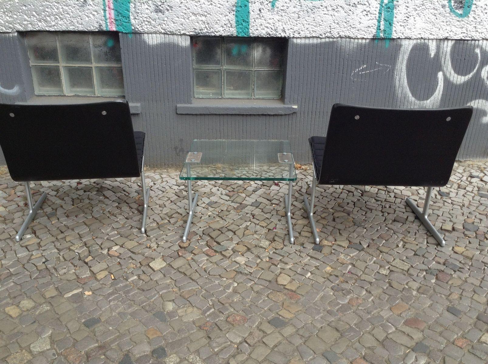 601 sessel mit tisch von dieter rams f r vits 1960er bei pamono kaufen. Black Bedroom Furniture Sets. Home Design Ideas