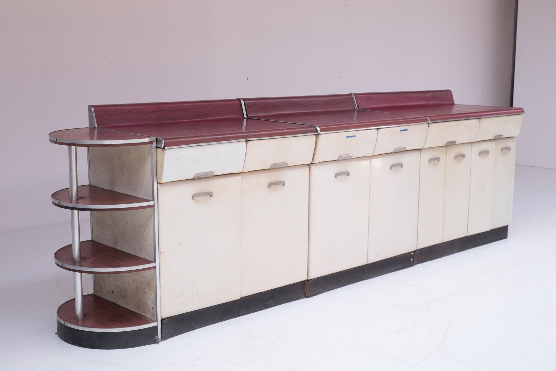Kitchen Cabinet Set By Raymond Loewy 1950s For Sale At Pamono