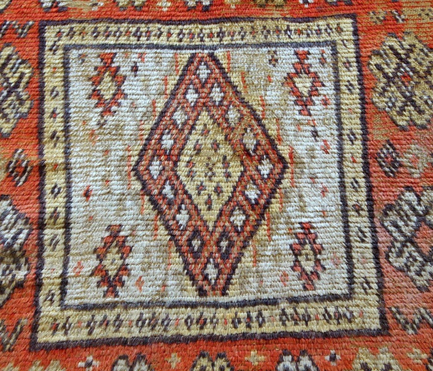 Moroccan Handmade Berber Rug, 1900s For Sale At Pamono