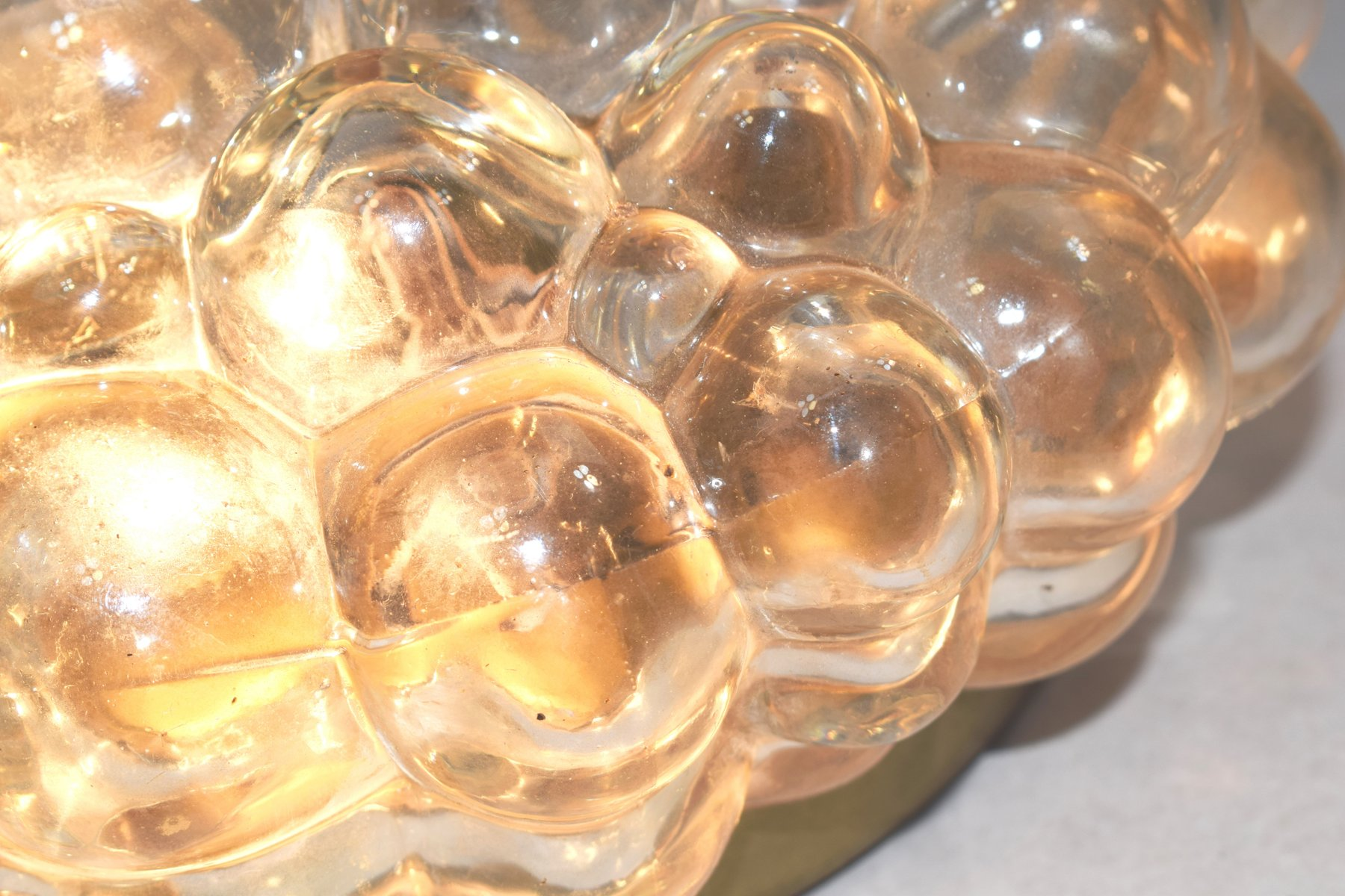 Bubble Glass Wall Light by Helena Tynell for Limburg, 1960s for sale ...