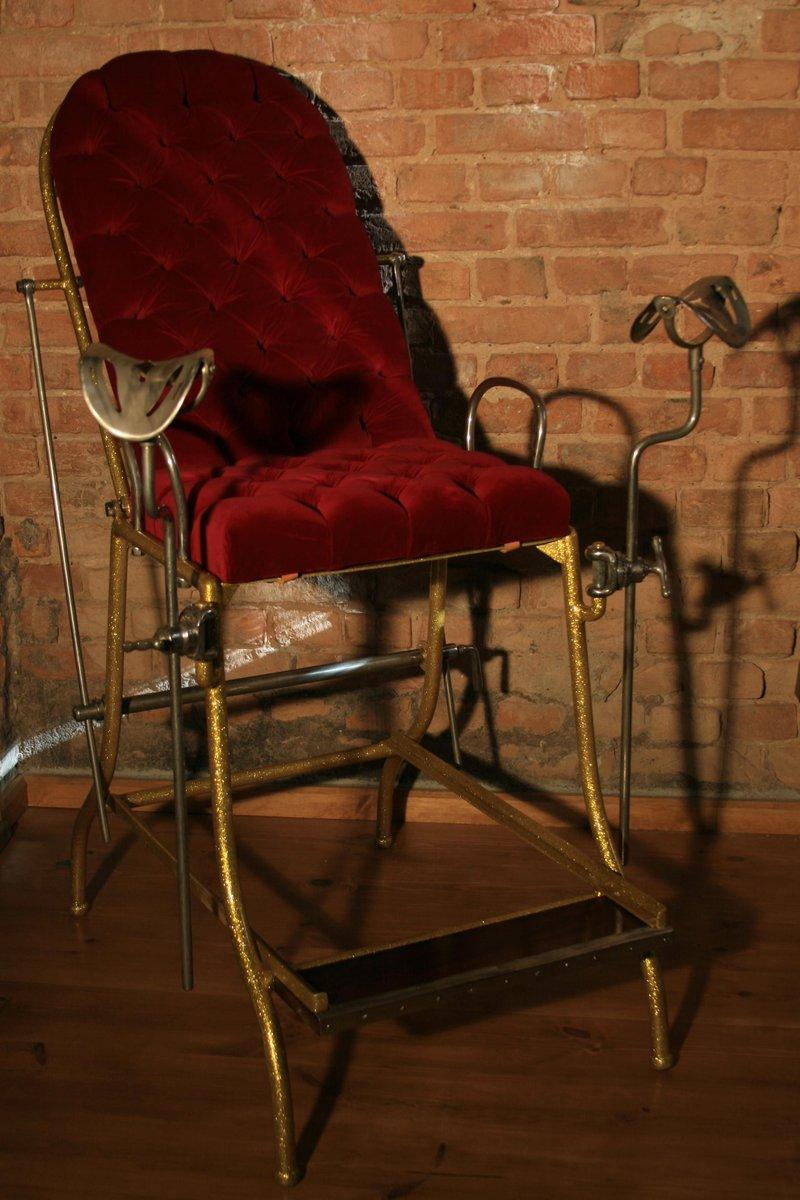 Gynäkologischer Vintage Stuhl, 1930er