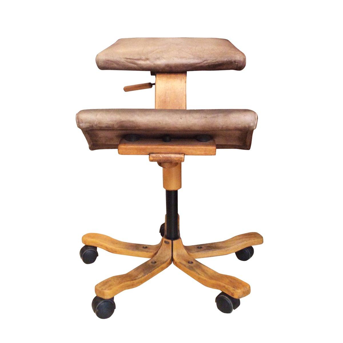 Sedia ergonomica di Stokke, Norvegia, anni \'60 in vendita su Pamono