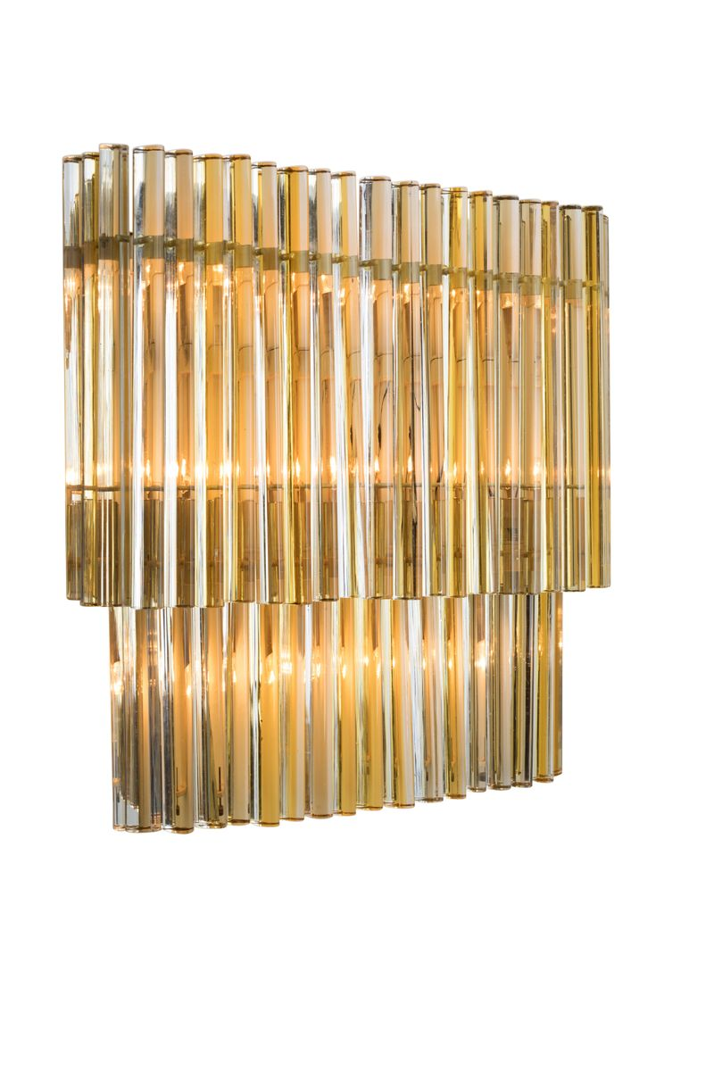 Murano Glass Wall Light from Venini, 1960s for sale at Pamono