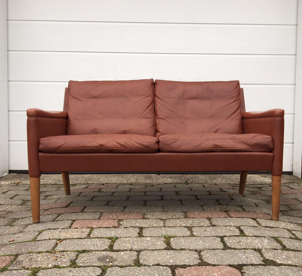 Modell 55 2-Sitzer Sofa von Kurt Østervig für Centrum Møbler, 1950er