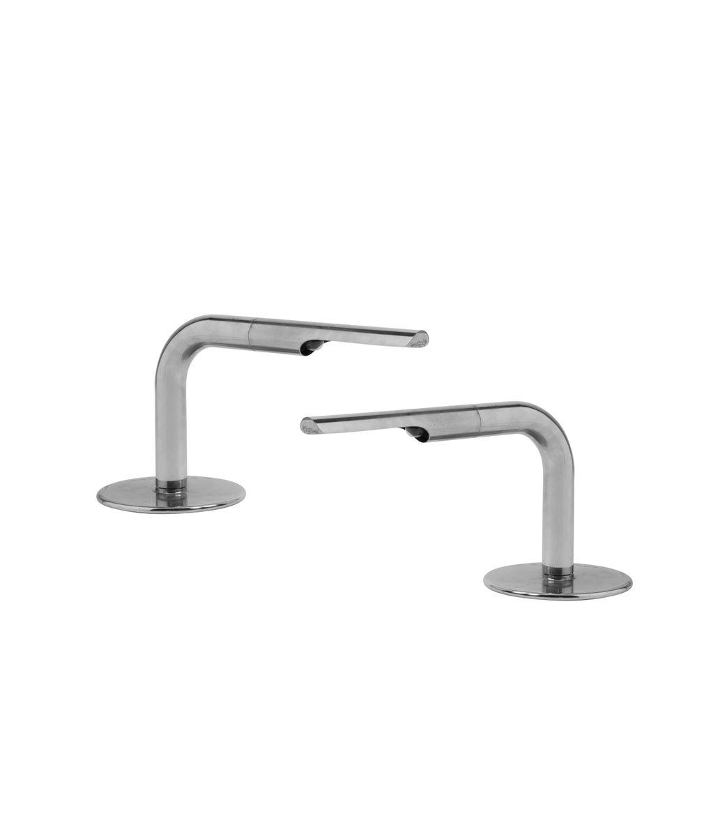 Tischlampen aus Metall von Marcel Breuer, 2er Set