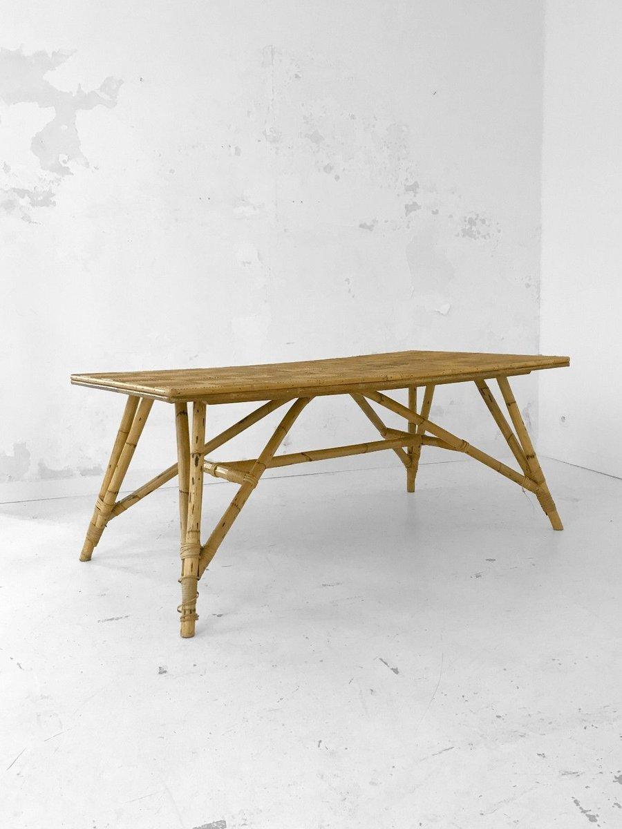 Großer Esstisch von Adrien Audoux & Freda Minet, 1950er
