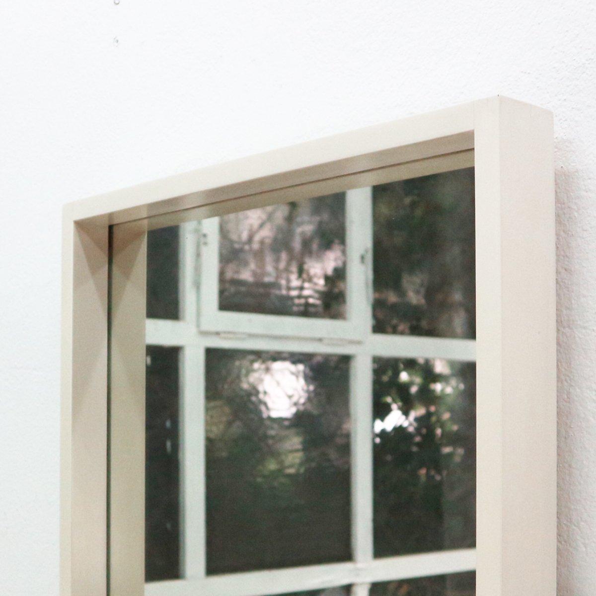 Specchio da parete grande con cornice bianca, anni \'60 in vendita su ...