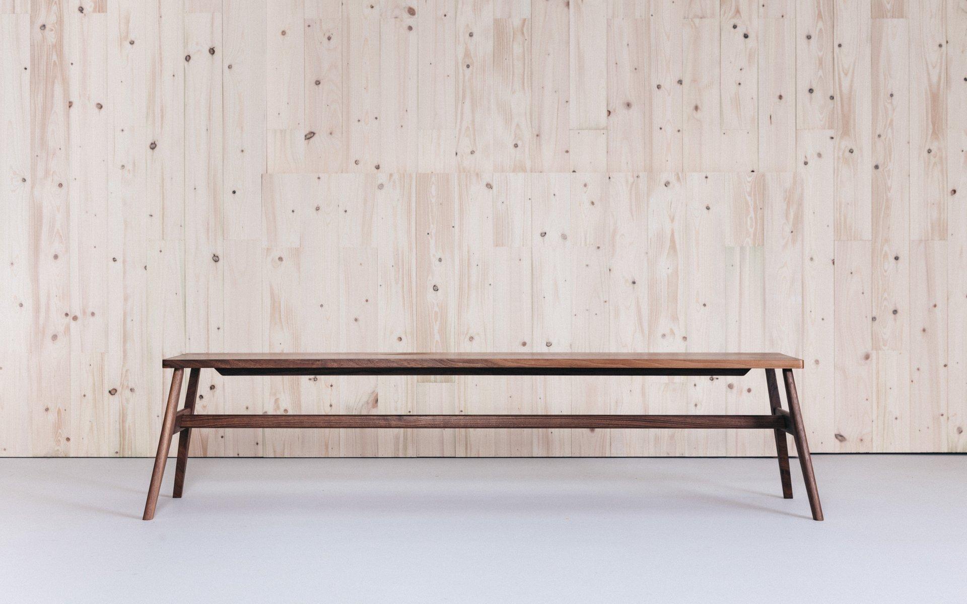 Esszimmerbank aus Eichenholz von Jacob Pugh