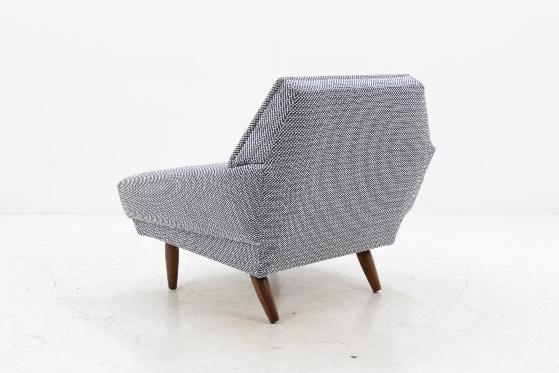 d nischer sessel aus eiche 1960 bei pamono kaufen. Black Bedroom Furniture Sets. Home Design Ideas