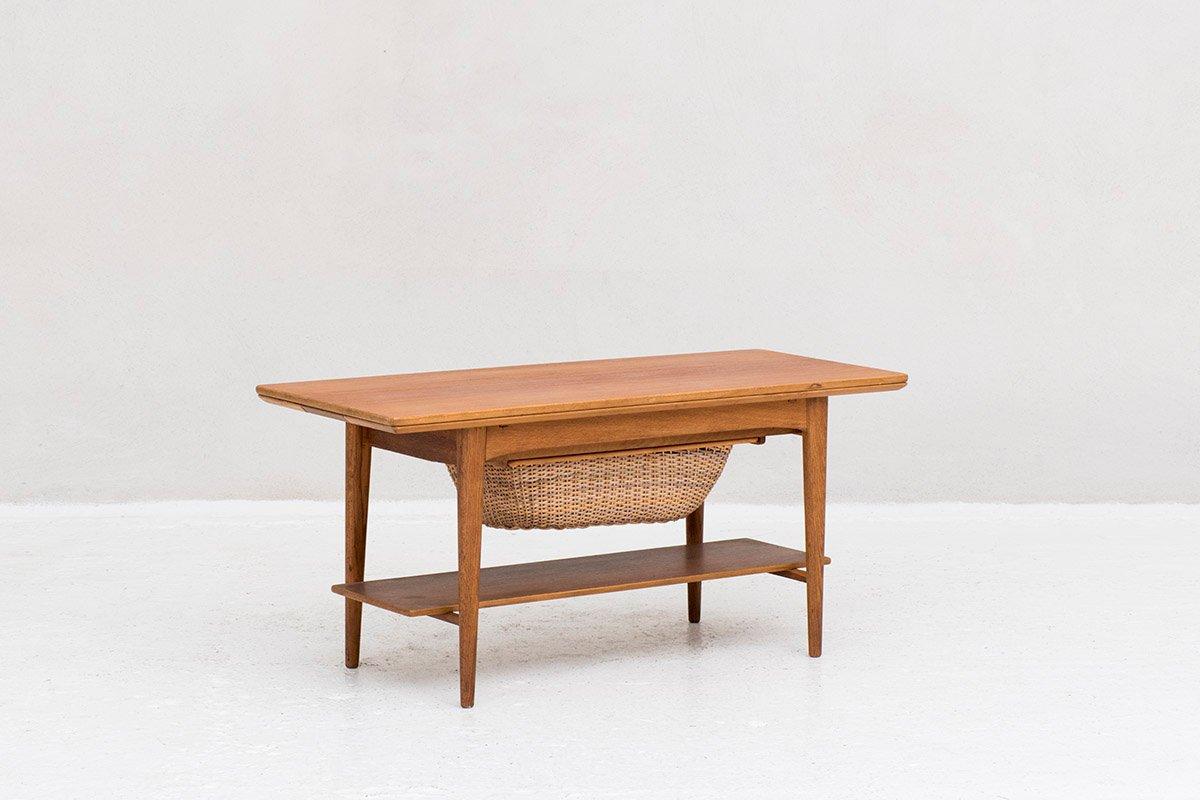 Couch- oder Nähtisch von Christensen & Larsen, 1960er