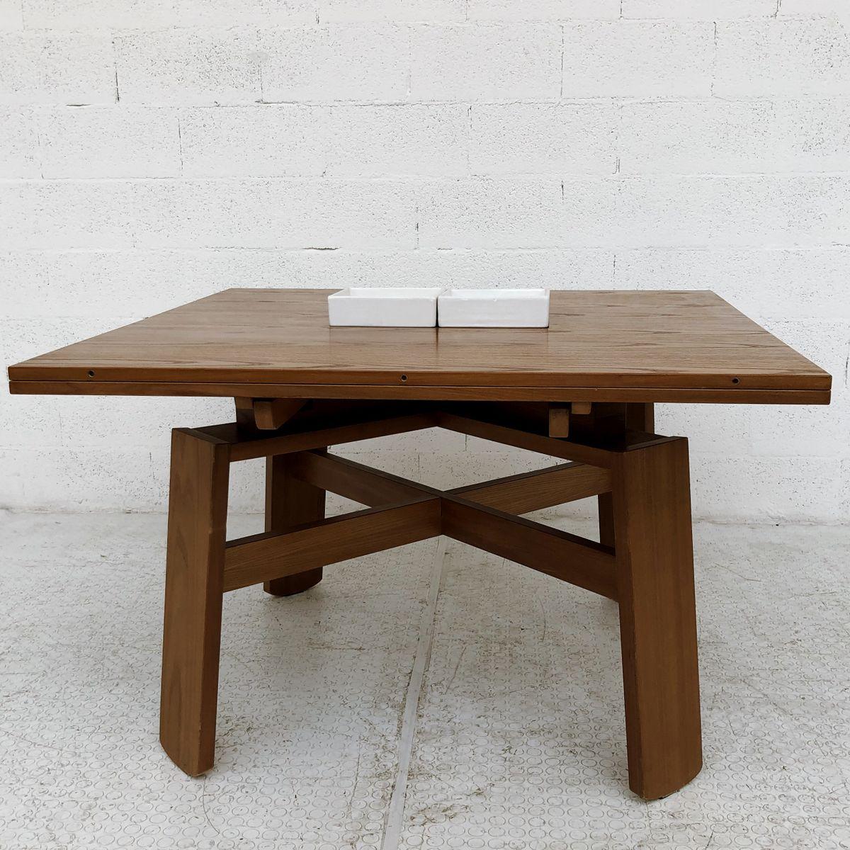 Tavolo da pranzo allungabile di Silvio Coppola per Bernini, 1964 in ...