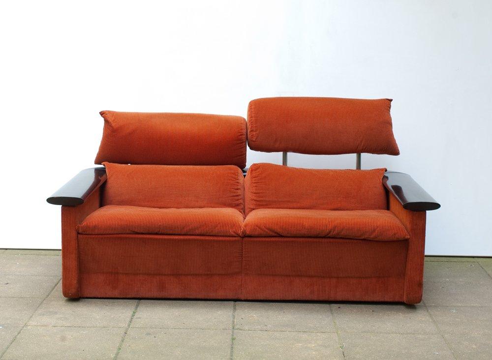 sofa von franco perrotti f r tecno 1970er bei pamono kaufen. Black Bedroom Furniture Sets. Home Design Ideas