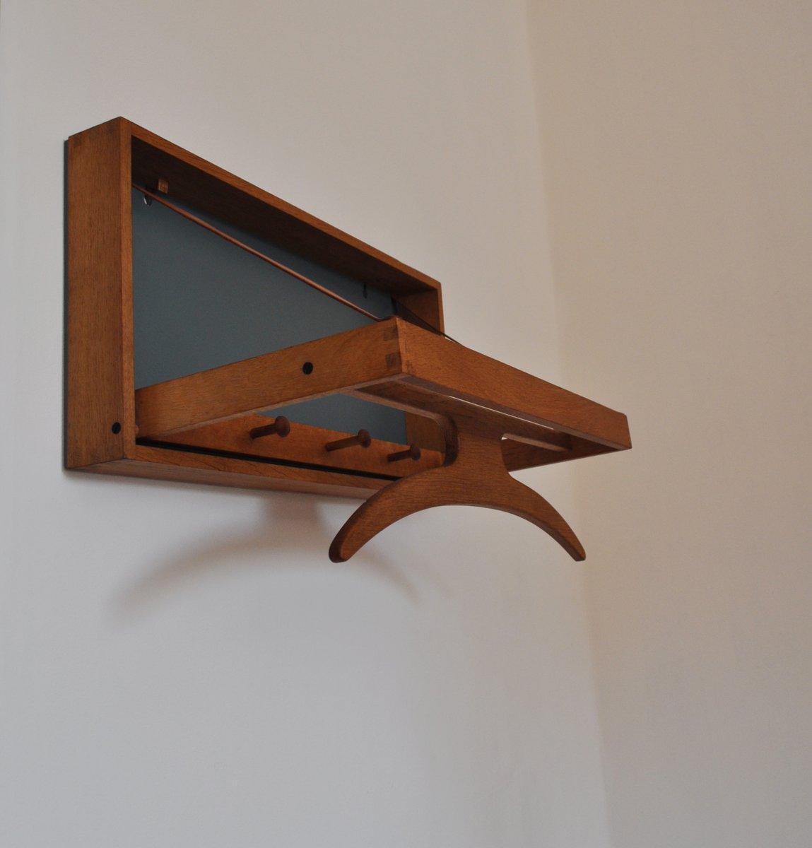 mid century stummer diener f r wand von adam hoff poul stergaard f r virum m belsnedkeri bei. Black Bedroom Furniture Sets. Home Design Ideas