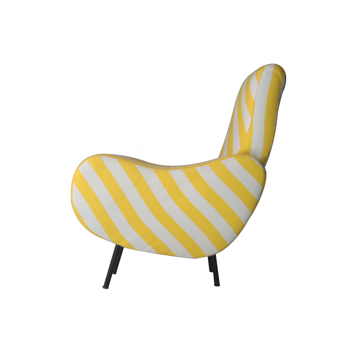 sessel mit fu st tze set 1960er bei pamono kaufen. Black Bedroom Furniture Sets. Home Design Ideas