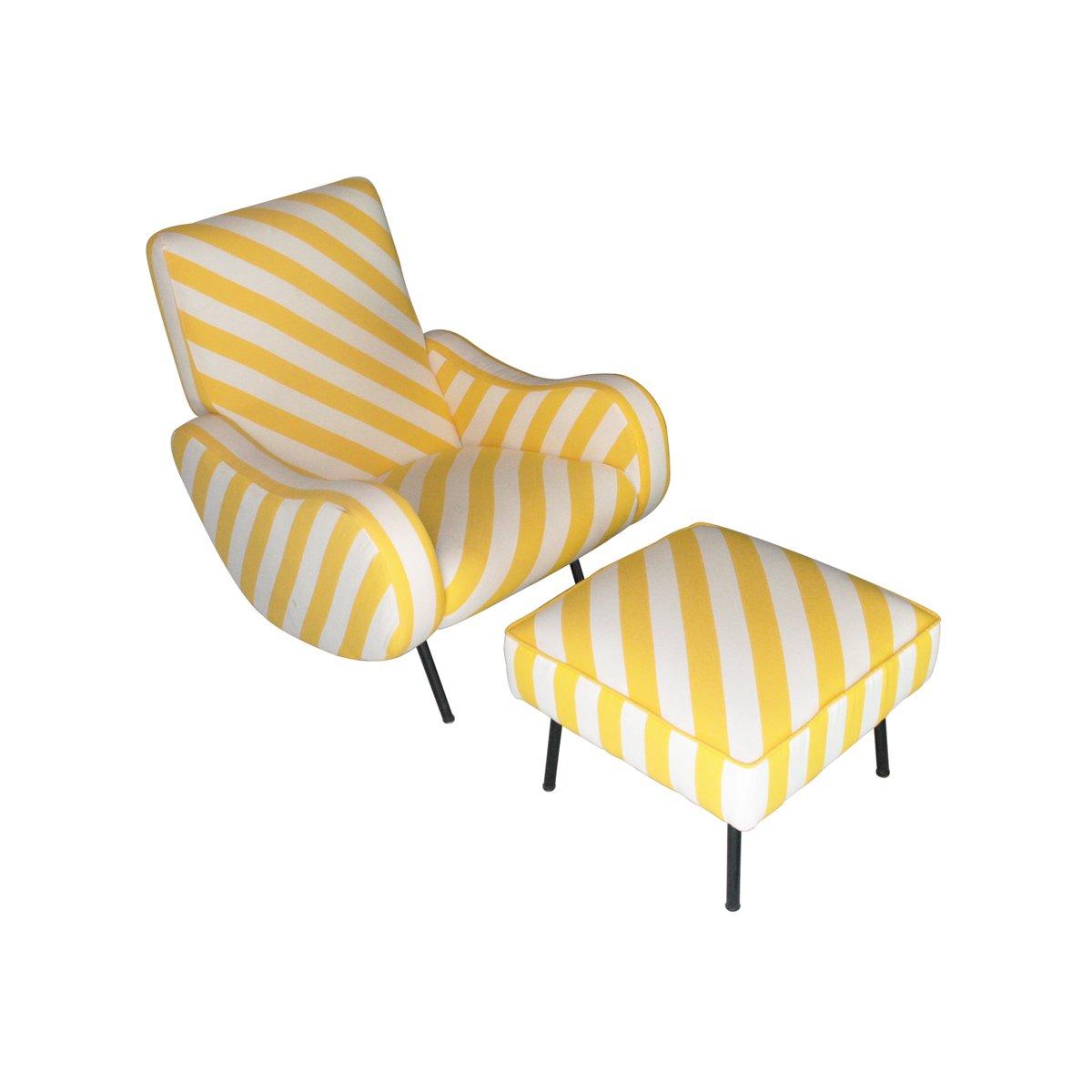 sessel mit fu st tze set 1960er haustechnik thiel. Black Bedroom Furniture Sets. Home Design Ideas