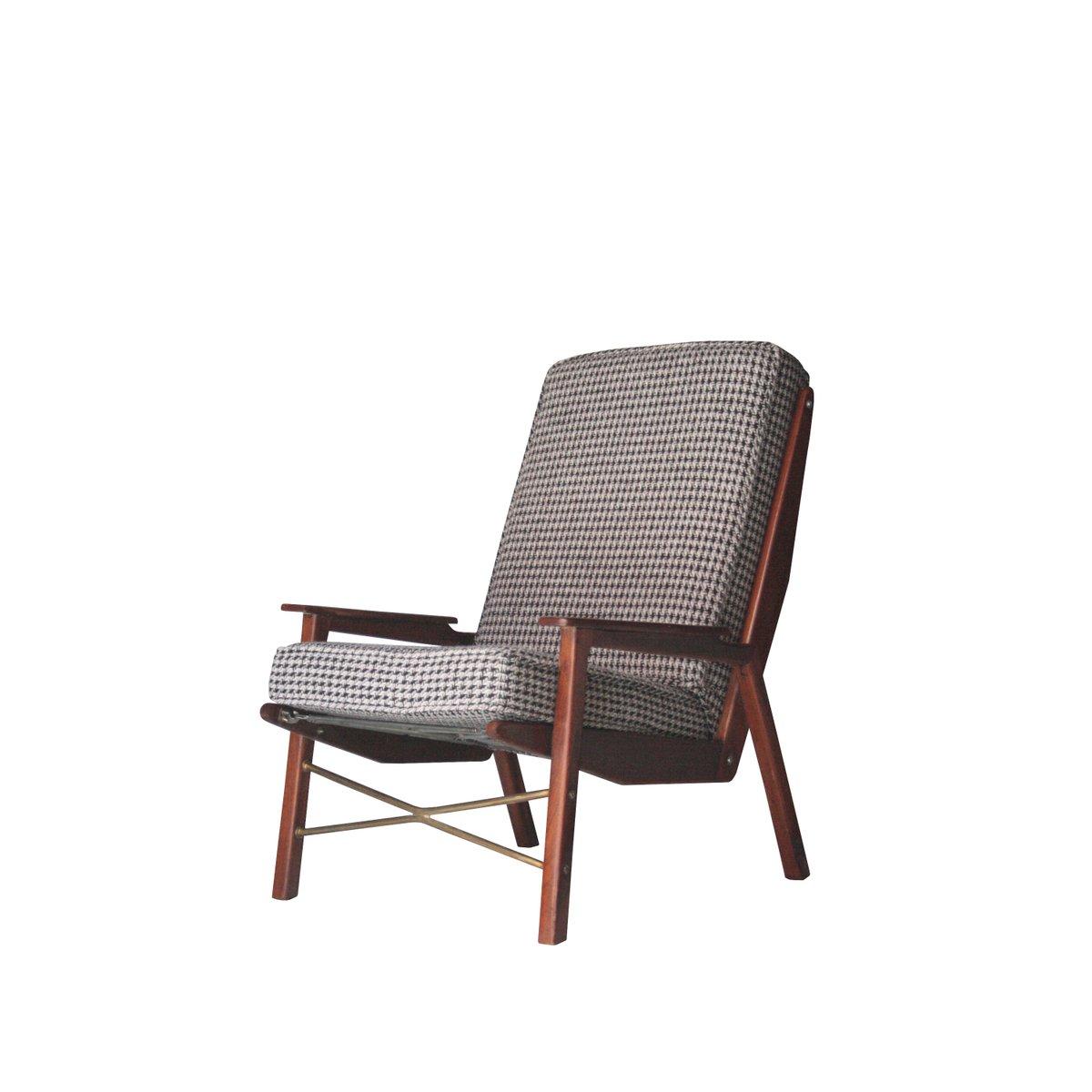 Französischer Sessel von Rene-Jean Caillette, 1956