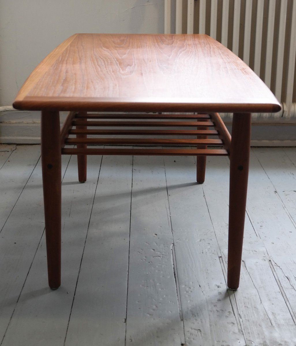 Teak Coffee Table By Grete Jalk For Glostrup, 1969 For