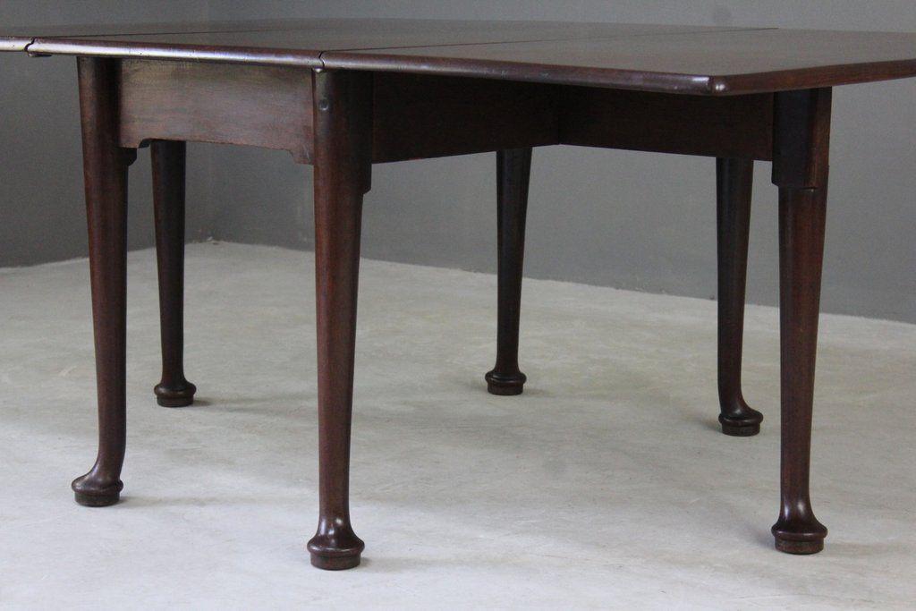 George Iii Mahogany Drop Leaf Table For Sale At Pamono