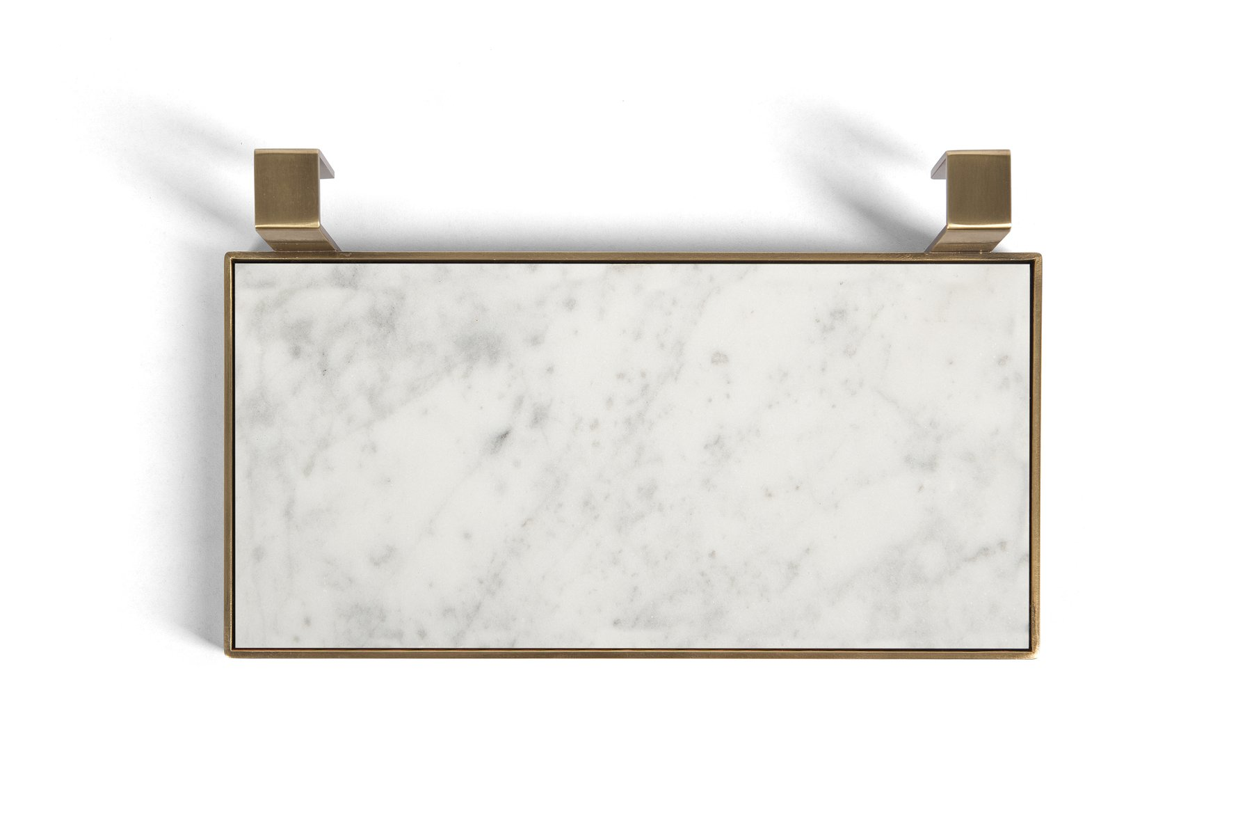 Tabl Eau Tray Soap Dish In Bianco Carrara Marble And Br By Silvia Fanticelli For Salvatori