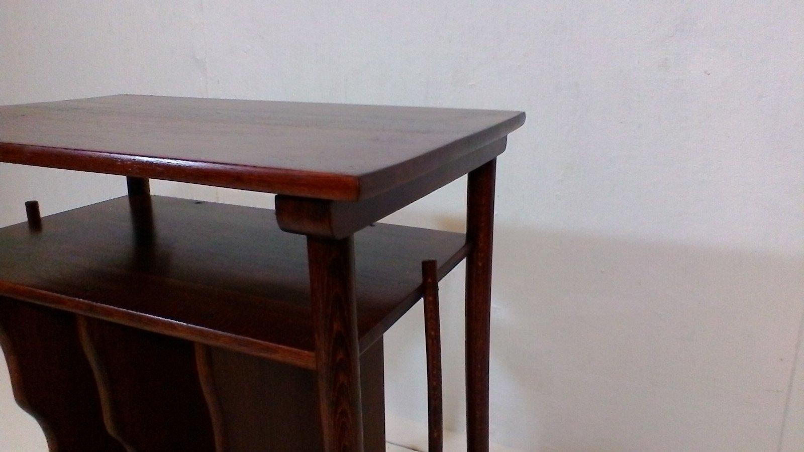 couchtisch aus holz von thonet 1925 bei pamono kaufen. Black Bedroom Furniture Sets. Home Design Ideas