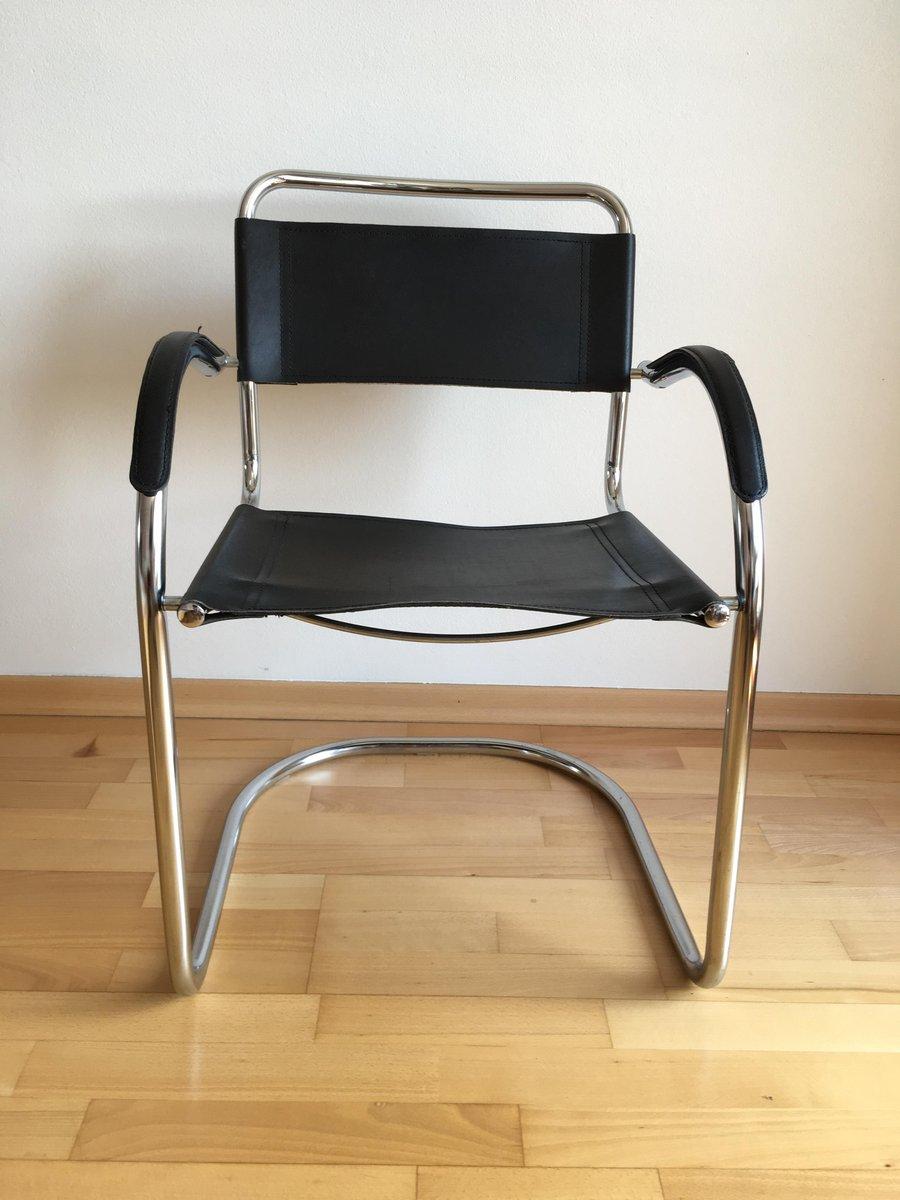 Tschechischer Sessel aus Chrom, 1970er