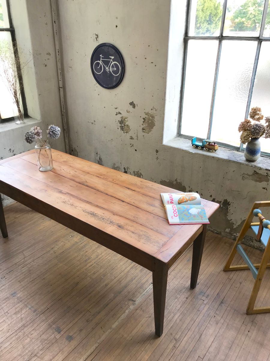 Vintage Farmhouse Table For Sale At Pamono