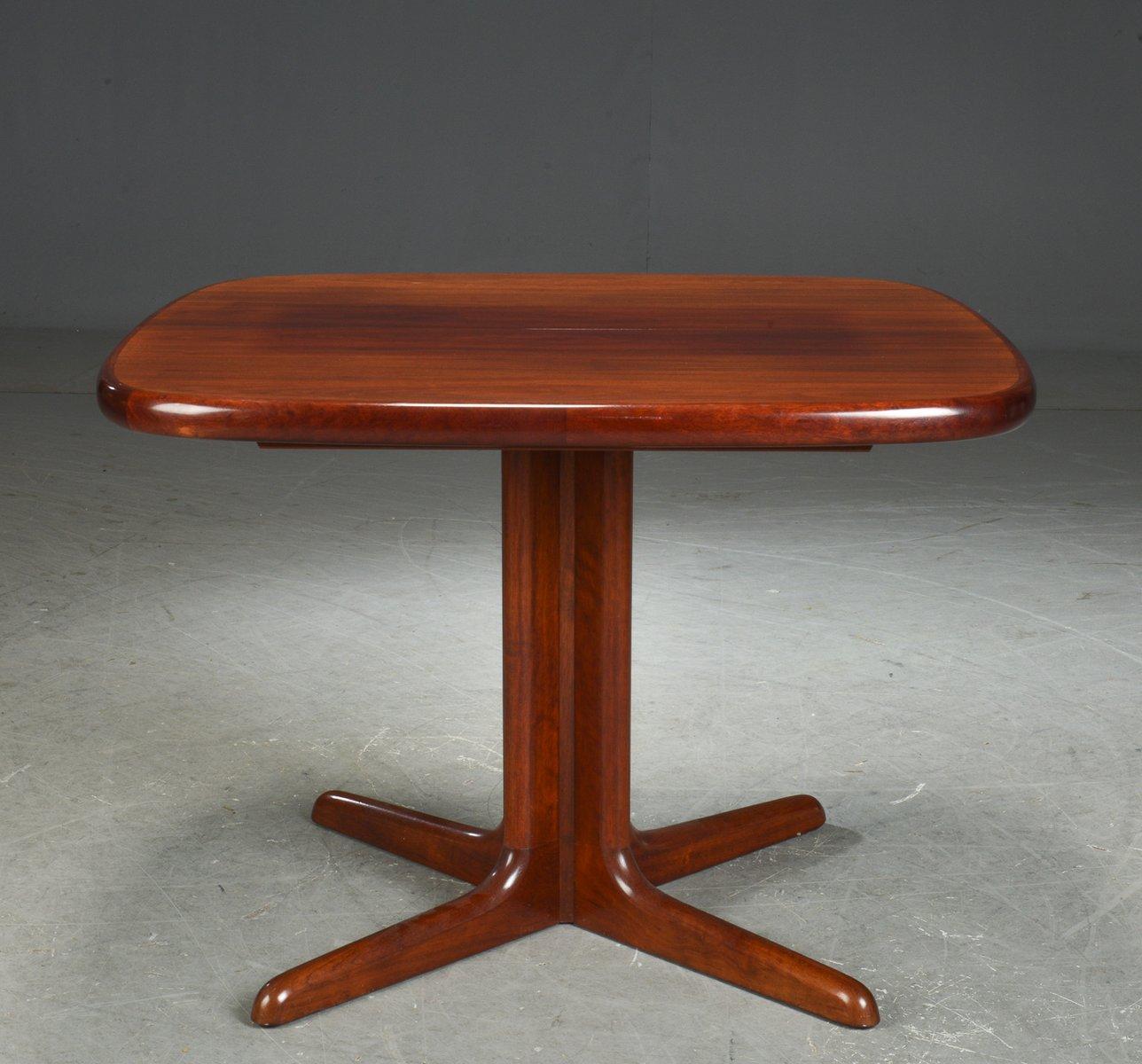 Ausziehbarer Esstisch aus Mahagoni von Skovby, 1970er