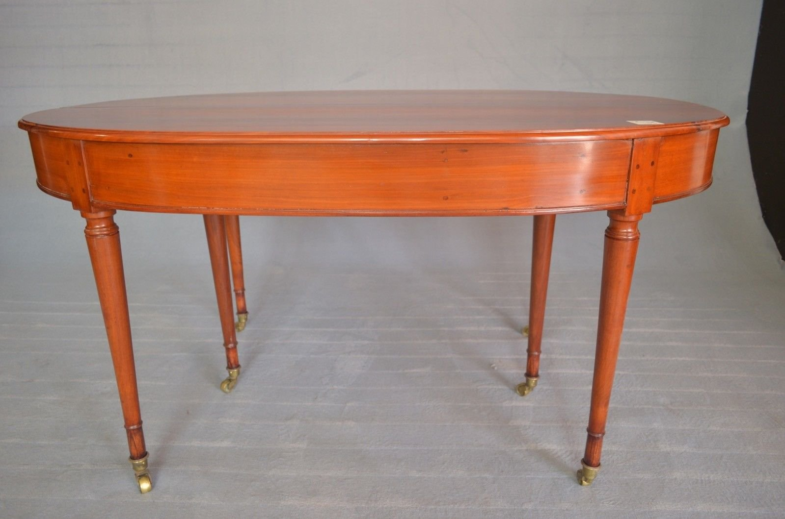 ausziehbarer ovaler biedermeier tisch, 1830er bei pamono kaufen