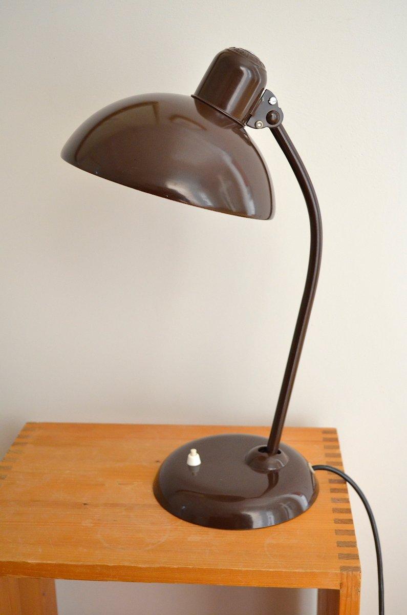 Modell 6556 Schreibtischlampe von Christian Dell für Kaiser Idell, 193...