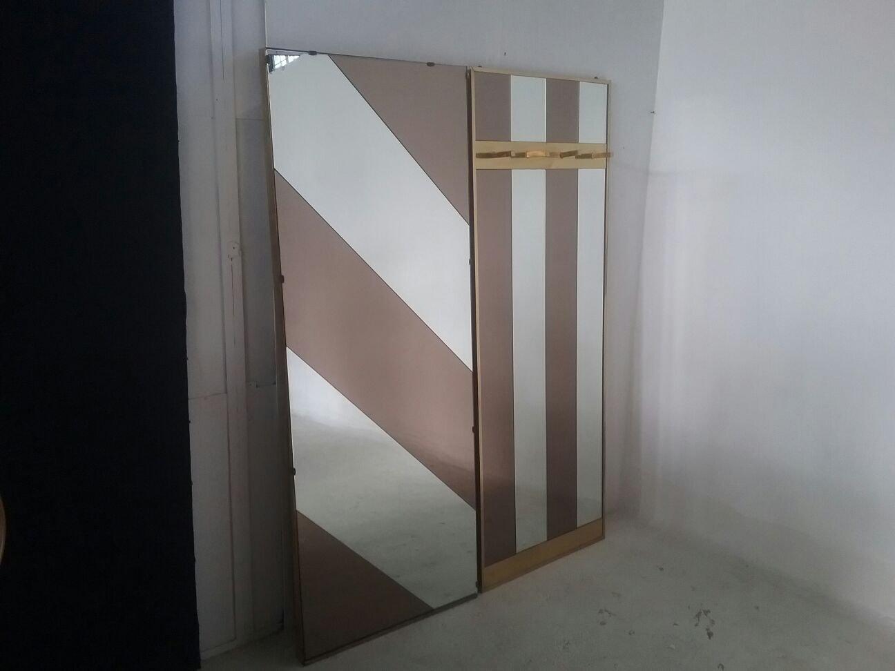 Garderobe & Spiegel von Romeo Rega, 1970er