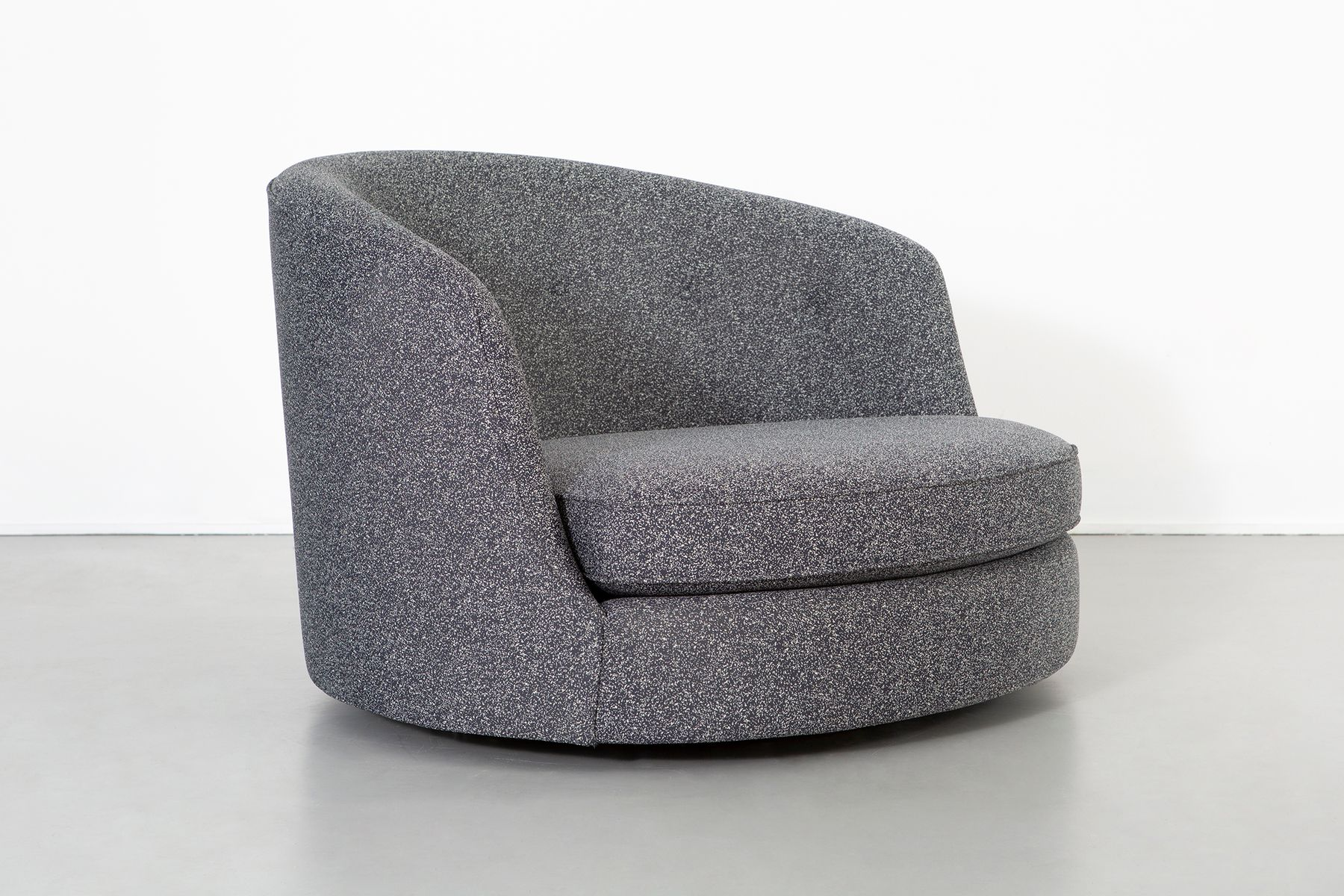 large swivel lounge chair by milo baughman 1960s for sale at pamono