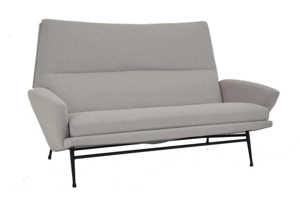 2-Sitzer Sofa von Guy Besnard, 1960er