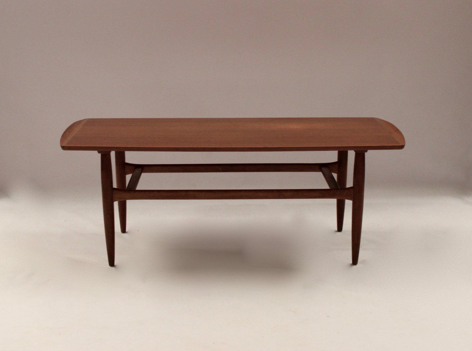 Danish Teak Coffee Table From Jason 1960s
