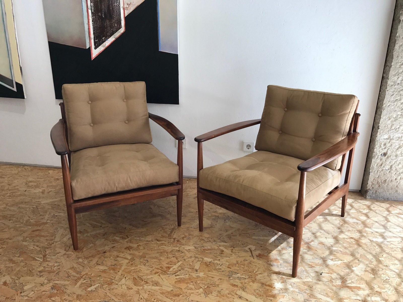 Brasilianischer Sessel, 1960er, 2er Set