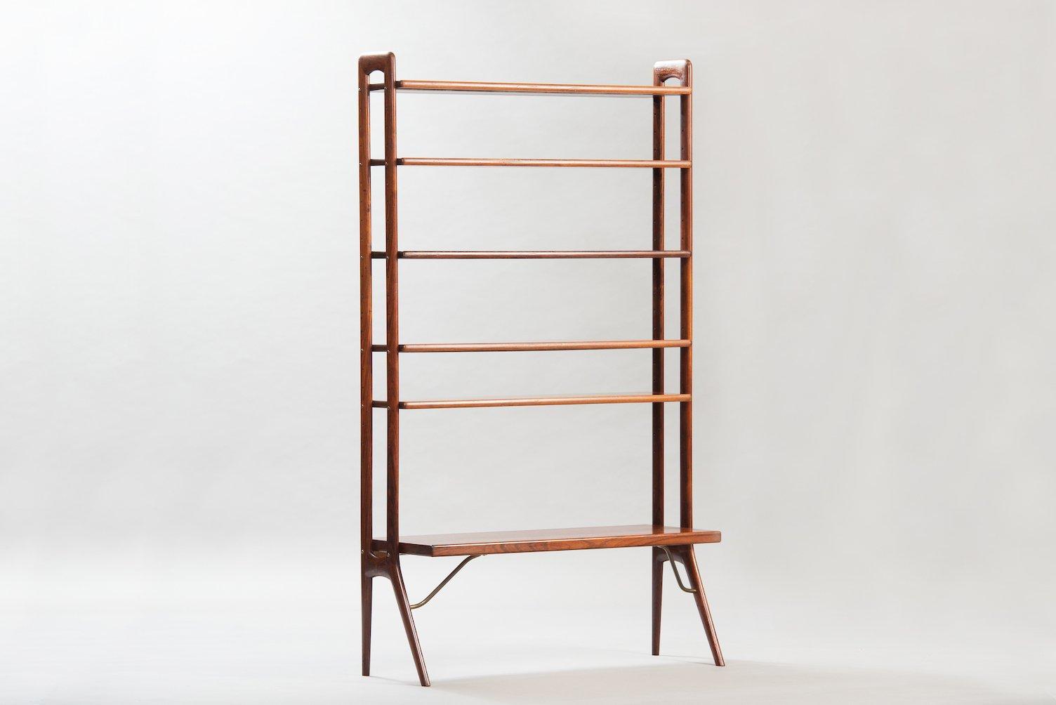 Mid Century Rosewood Bookshelf By Kurt Ostervig For KP Mbler