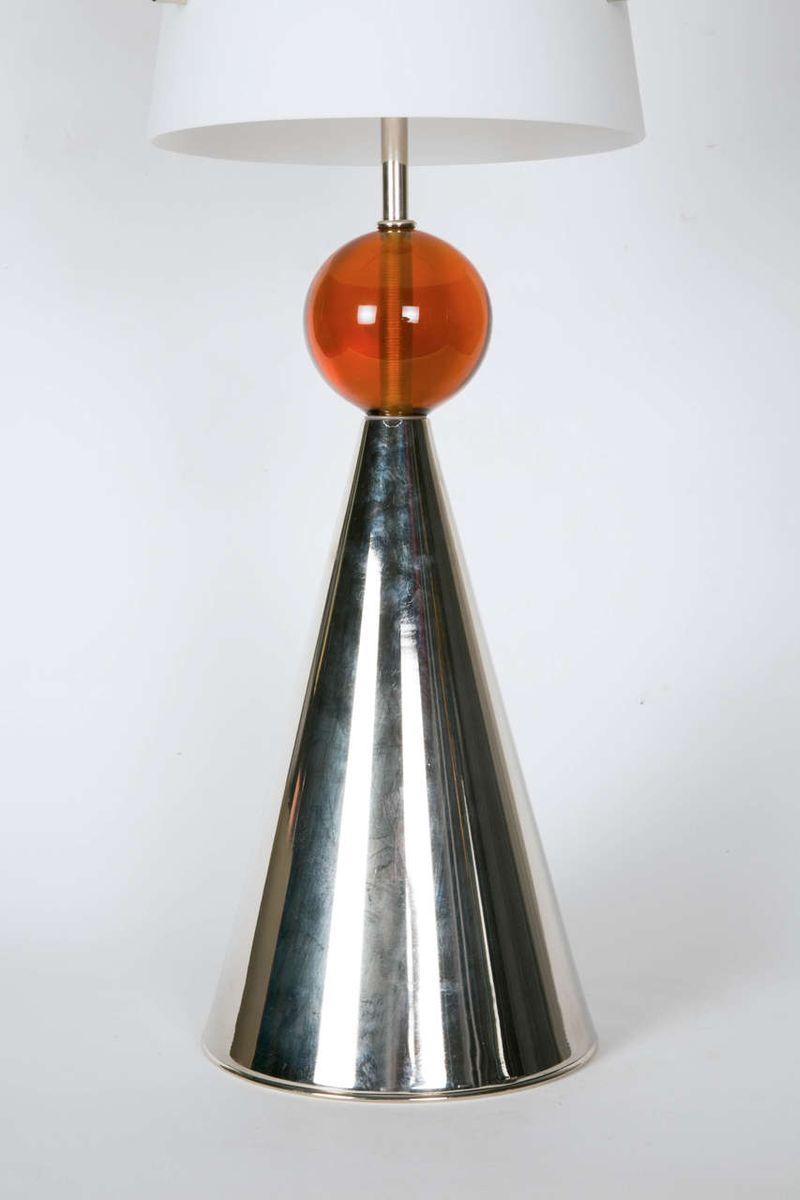 Italienische lampen mit opalglasschirm 1980er 2er set for Italienische design lampen