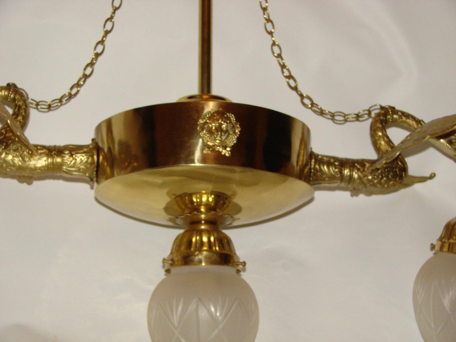 Kronleuchter Barock Gold ~ Antiker jugendstil kronleuchter bei pamono kaufen