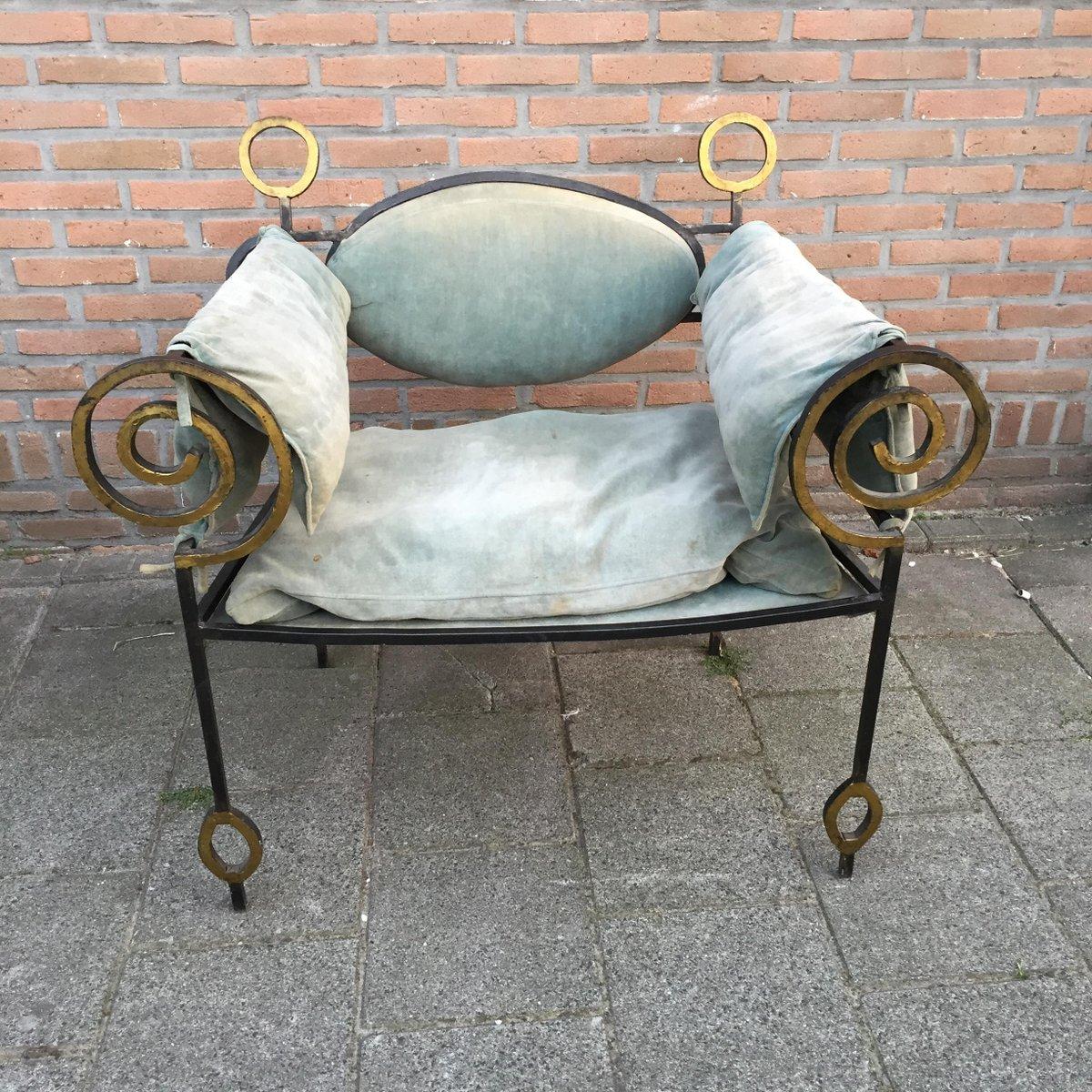 Vintage Sessel aus Schmiedeeisen