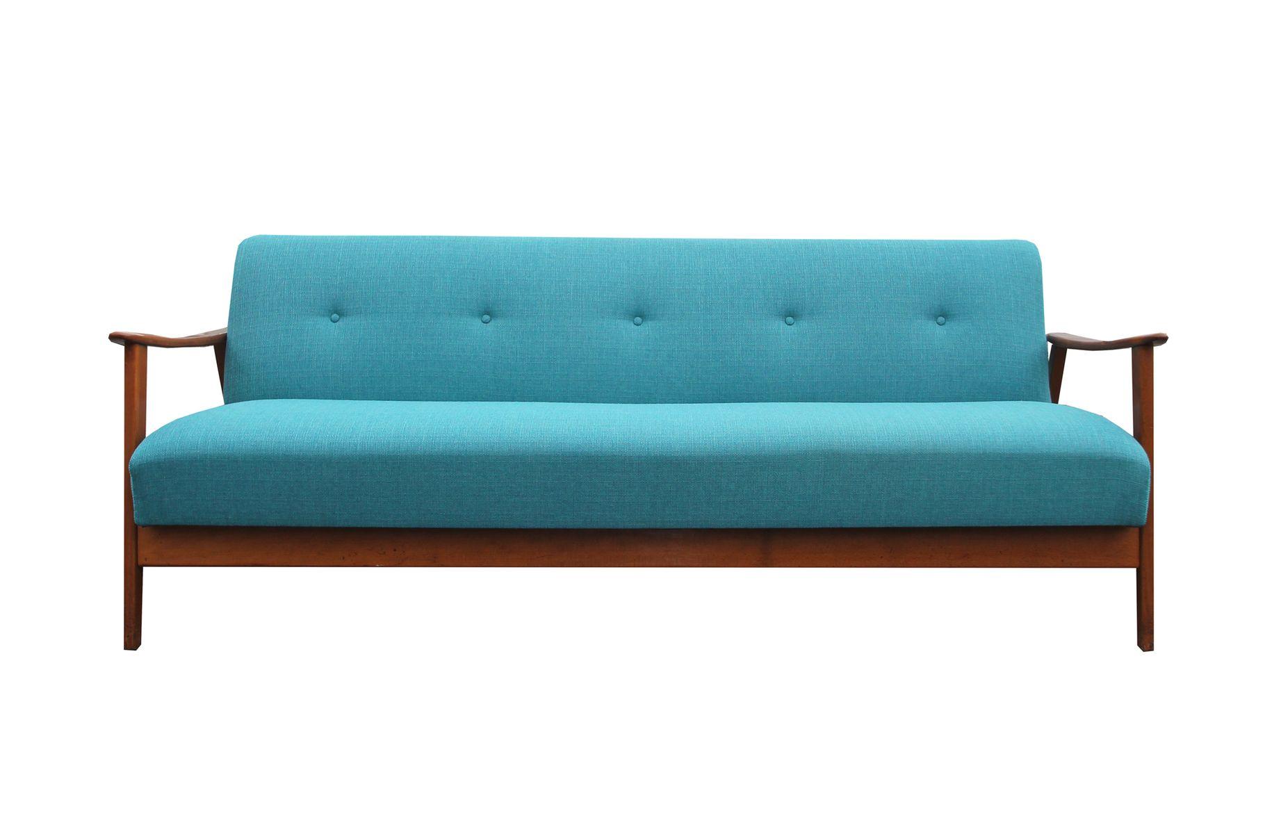 deutsches mid century schlafsofa 1950er bei pamono kaufen. Black Bedroom Furniture Sets. Home Design Ideas