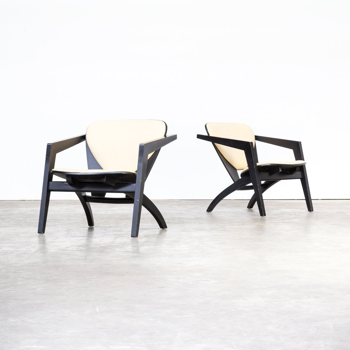 GE-460 Butterfly Chairs von Hans Wegner für Getama, 1970er, 2er Set
