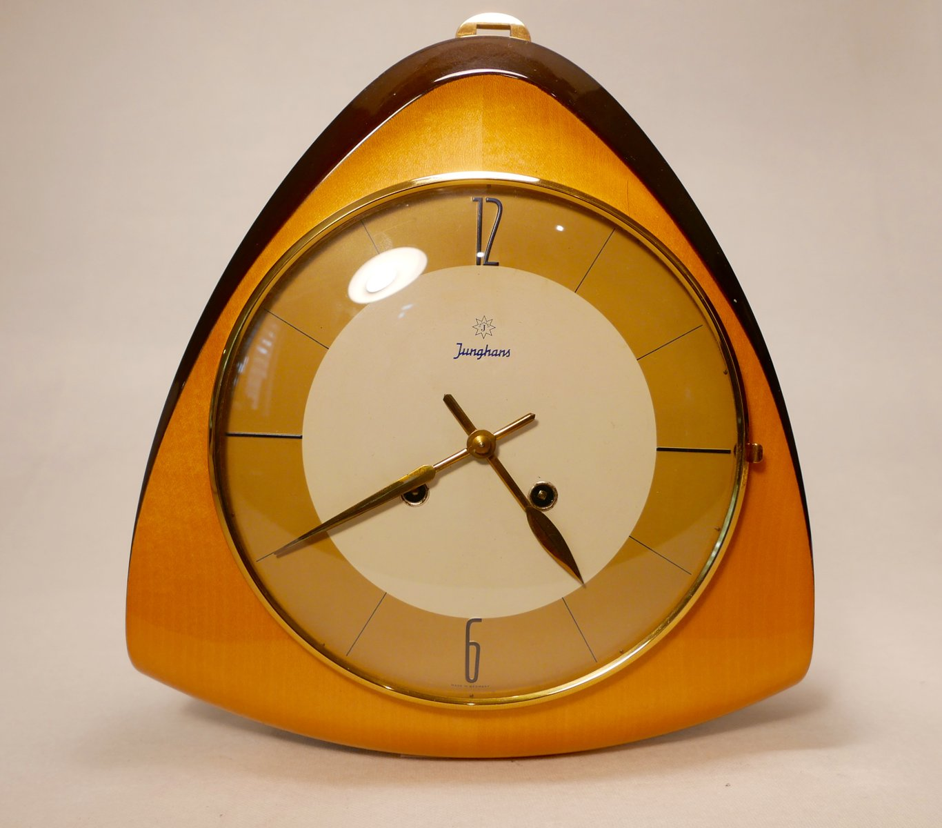 Vintage mid century wall clock from junghans