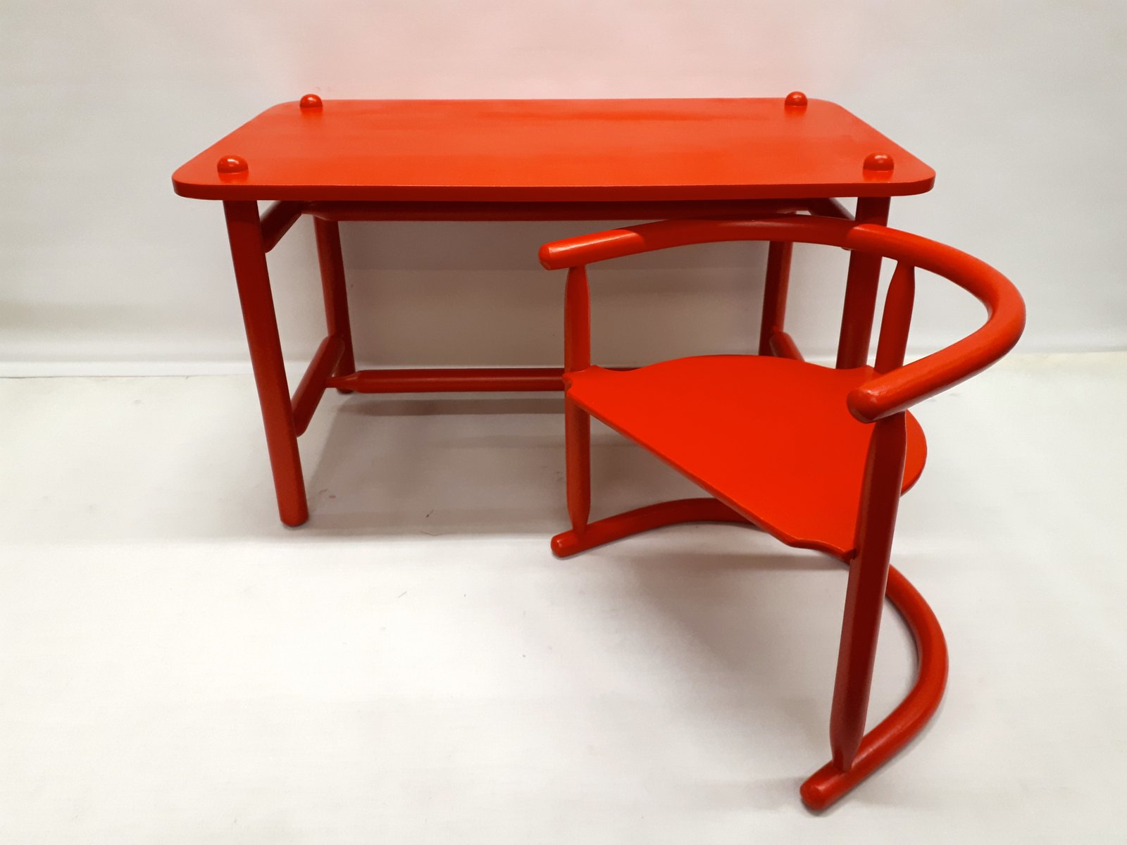 Bureau et chaise anna par karin mobring pour ikea 1963 en vente sur