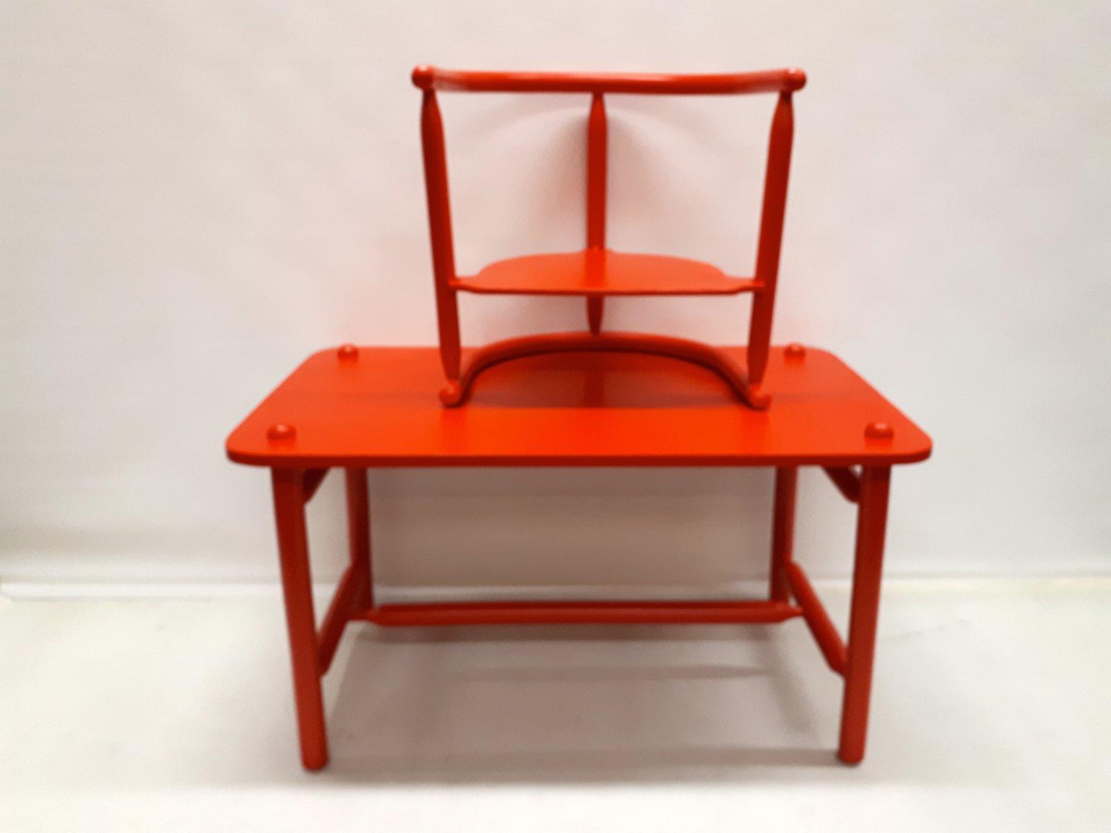 Scrivania e sedia anna di karin mobring per ikea in vendita